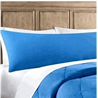 Elegant Solid Blue Mainstays Elegant Solid Blue Body Pillow Case by CakeSupplyShop