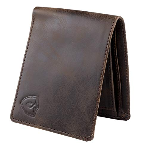 Keviv® Genuine Leather Wallet for Men || Men's Wallet || (Brown)