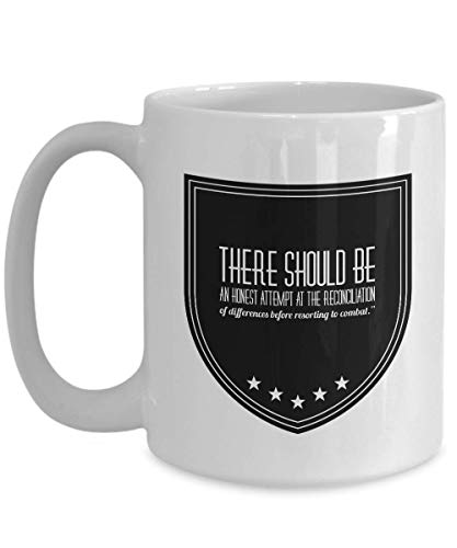 KUKUZCOQ Politician Coffee Mug - There Should Be An Honest Attempt - Quote Patriot Mayor Political Republican Democrat USA New York City NYC 15 Oz (New York City, Party Supplies)