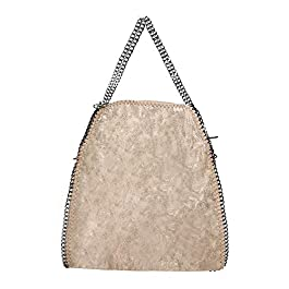 Anush Borsa donna grande borsa con catena tracolla regolabile in pelle sintetica 40x42x10 cm