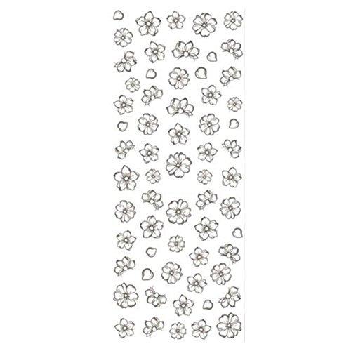 Born Pretty 1 Plaque Water Decals Floral Fleurs Sticker DšŠco Ongles Nail Art #DS-250