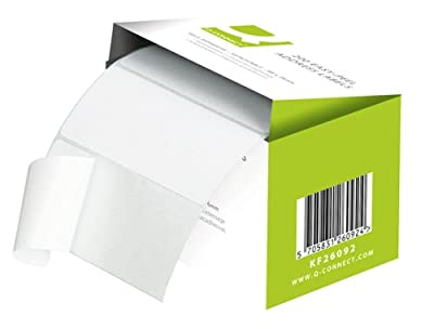Q Connect 89x36mm Self-Adhesive Address Label (Roll of 250)