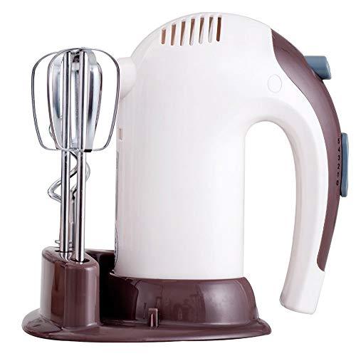 RANRANJJ Elektro-Handmixer für die kabellose Küche - tragbare Edelstahl-Rührmaschine mit 5 Geschwindigkeitsstufen - für Ei, Kuchen, Teig
