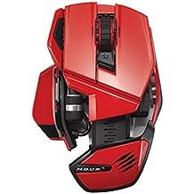 [UK-Import] Mad Catz M.O.U.S. 9 Wireless Mouse 990dpi (RED)