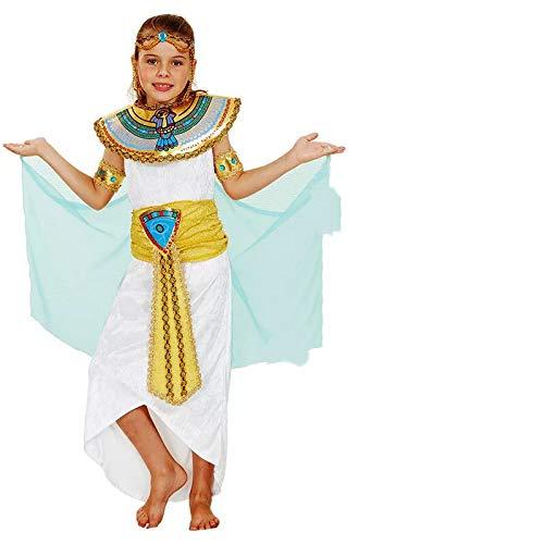 Kostüm Kinder Aphrodite - thematys Cleopatra Aphrodite Göttin Kostüm-Set für Kinder - perfekt für Fasching, Karneval & Cosplay - Verschiedene Größen (L)