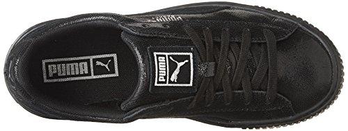PUMA Women s Basket NS Wn Platform  Puma Black-Puma Black  9 M US