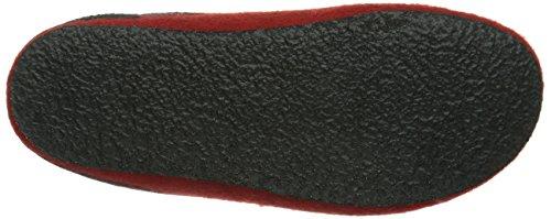 Stegmann  Stegmann 127, Pantoufles non doublées mixte adulte Rouge - Rot (8820  dark cherry)