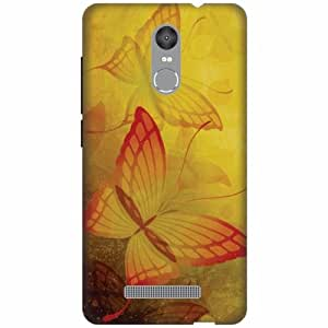 Printland Designer Back Cover For Xiaomi Redmi Note 3