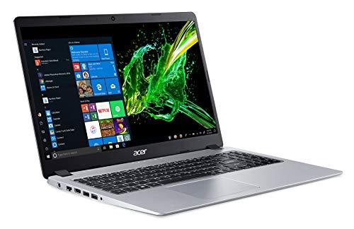 "Acer Aspire 5, 15.6\"" Full HD IPS Display, AMD Ryzen 3 3200U, Vega 3 Graphics, 4GB DDR4, 128GB SSD, Backlit Keyboard, Windows 10 in S Mode, A515-43-R19L"