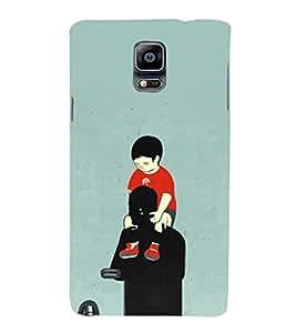 EPICCASE Love you dad Mobile Back Case Cover For Samsung Galaxy Note Edge (Designer Case)