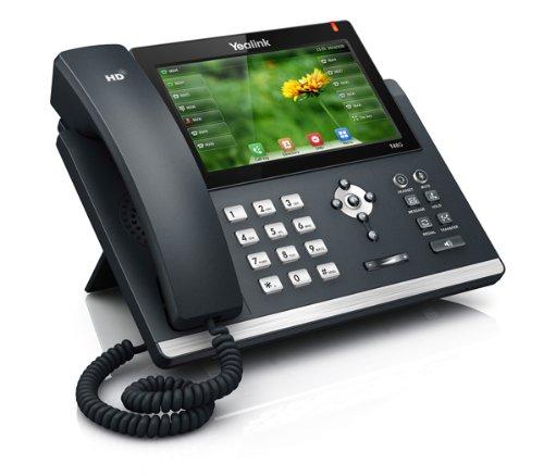 YEALINK SIP-T48G SIP-IP-Telefon PoE mit 17,71cm 7 Zoll Touch Display High End Business