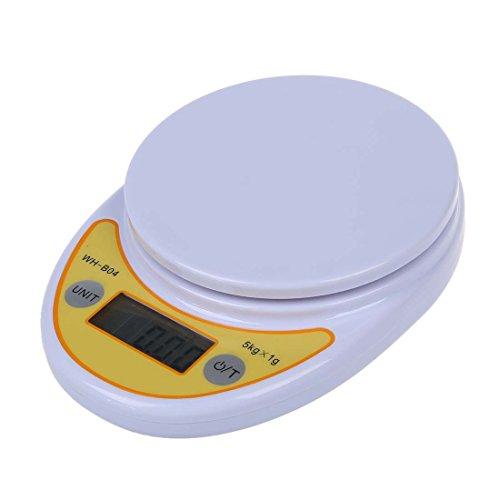 TOOGOO(R)BILANCIA DIGITALE CUCINA PESA ALIMENTI CIBI TARA 1g/5kg