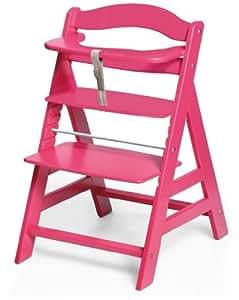 hauck 662922 hochstuhl alpha pink baby. Black Bedroom Furniture Sets. Home Design Ideas
