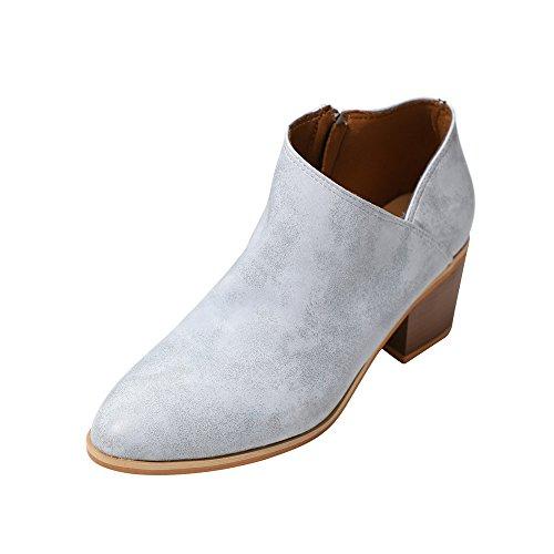 Stiefel Damen, LANSKIRT Herbst Stiefeletten Halbschaft Stiefel Plateau Blockabsatz Knöchelhohe Stiefel Boot Sandalen Sneakers Schuhe