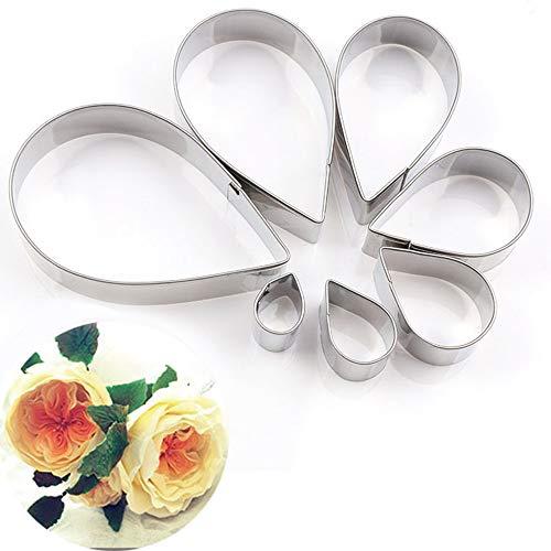geformt Kuchen Seidenblume Form Edelstahlform Set ()