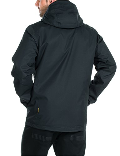 Jack Wolfskin Herren Jacke Wattiert Chilly Morning Jacket Black