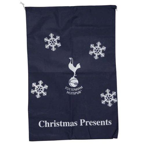 Weihnachts-Geschenkbeutel mit Fußballclub-Logo - Tottenham Hotspur FC (Snowflake)