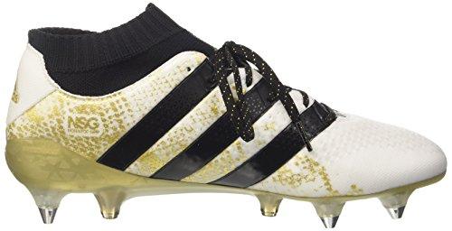 adidas Ace 16.1 Primeknit Sg, Scarpe da Calcio Uomo Bianco (Varios colores (Blanco (Ftwbla / Negbas / Dormet)))