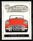 goldenera Daimler Original Sammelkarten SP250 Dart V8 250 Sovereign Double-Six V12