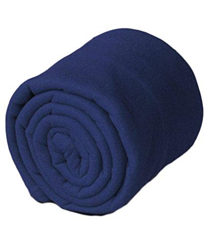 Goyal's Polar Fleece Double Blanket - Blue