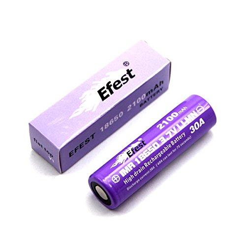 Preisvergleich Produktbild Efest IMR18650 2100mah 3,6V - 3.7V Li-ion Akku 30A