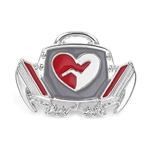 Refago Alloy Drip Brooch Pin Medical Device Defibrillator Modeling Special Brooch