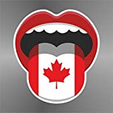 Sticker Canada Canadá Kanada - Decal Cars Motorcycles Helmet Wall Camper Bike Adesivo Adhesive Autocollant Pegatina Aufkleber - cm 32