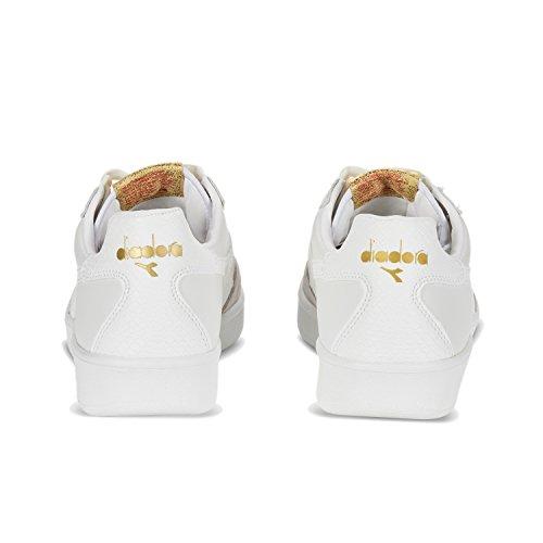 Diadora Chaussures de Sport B.Elite Xmas Pour Homme et Femme Bianco