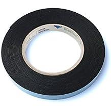 Bonus Eurotech- Cinta adhesiva a de doble cara, pegamento acrílico, polietileno de célula cerrada, longitud total de 10m x ancho de 12mm x grosor 0,8mm, color blanco.