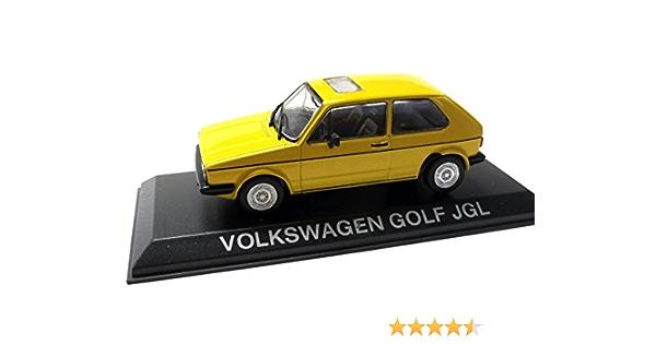 Vw Golf Jgl Gelb Modellauto Fertigmodell Specialc 75 1 43 Spielzeug