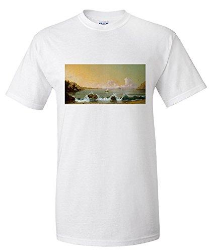 rio-de-janeiro-bay-masterpiece-classic-artist-martin-johnson-heade-c-1864-premium-t-shirt