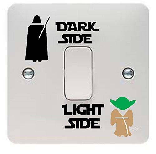 Wars Dark Side Star Kostüm - Star Wars Vinyl-Aufkleber/Abziehbild
