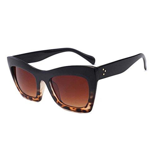 fa808569b7 ZycShang Women Sunglasses Women Fashion Cat Eye Shades Sunglasses  Integrated UV Candy Colored Glasses