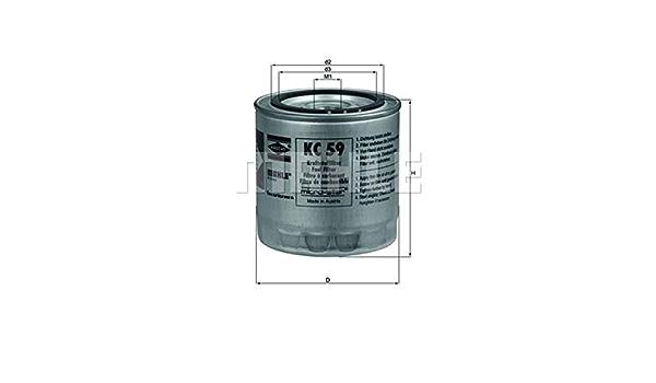 Mahle Knecht Kc 59 Kraftstofffilter Auto
