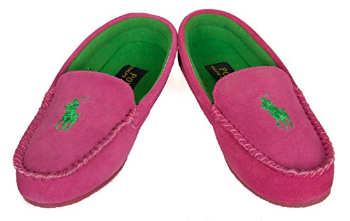Polo Ralph Lauren Slipper Dame Slip-on Mokassins Frau Homewear Artikel DESMOND MOC
