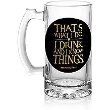 Aswhole Ideas I Drink/GOT Beer Mug,500ML