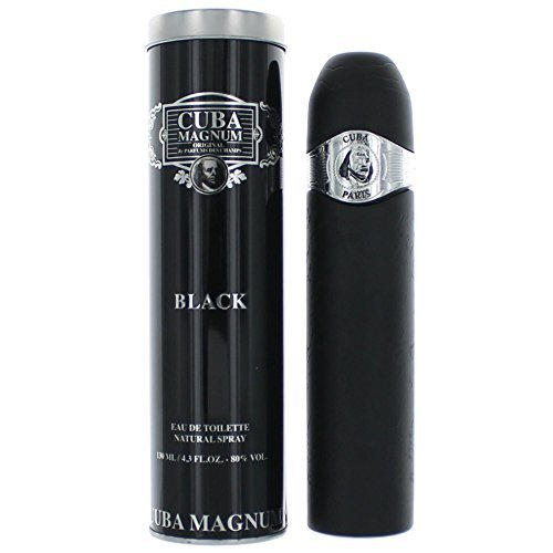 Cuba Magnum Black By Cuba For Men, Eau De Toilette Spray, 4.2-Ounce Bottle by Cuba -