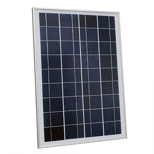 25 Polykristallin Solarpanel PV Solarzelle F¨¹r Auto Camping 12V Batterien