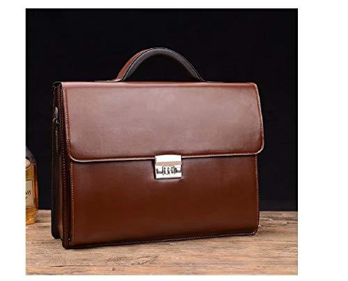 MILASIA Sac à Main d\'affaires à Trois chiffres Pour Les Hommes, sac à Main, épaule en bandoulière, sac à bandoulière, Grande capacité, Multi-poches