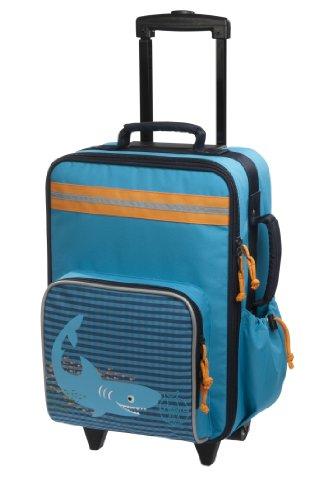 Lässig Trolley Kinderkoffer / Reisekoffer für Kinder Shark Ocean
