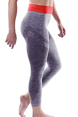 Women's Gym Yoga Pants 3/4 Length Capri Leggings by UK Ethical Activewear Brand Sundried®