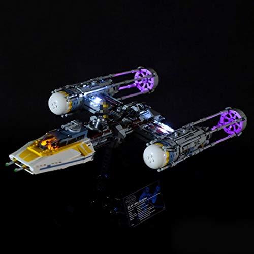 YVSoo LED Licht-Set für Baustein Spielzeug LED Beleuchtung Kit für Lego Star Wars Y-Wing Starfighter 75181 - Modell Nicht Enthalten