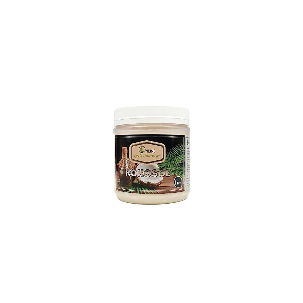 Online Speisekammer Kokosl Natives Premium Kokosl Aus Indonesien Kokosfett 1l 1000 Ml Kalt Gepresst Nicht Hydrogeniert Organic Natrlich Gefiltert Geschmack Und Geruchlos