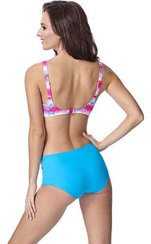 Merry Style Damen Figurformender Bikini F06 Muster-317