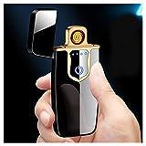Briquet Arc électrique USB électronique Arc Cigarettes à écran Tactile...