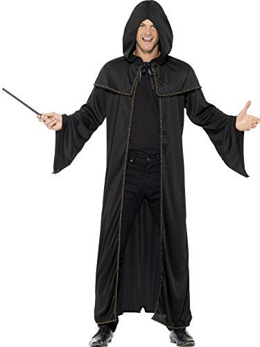 Smiffys Unisex Zauberer Mantel, One Size, 45605