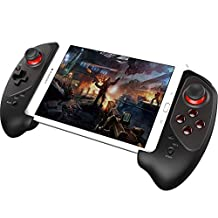 Powerlead Controlador de juego inalámbrico Bluetooth Gamepad para iPhone Sistema de iPhone iPod iPad, Samsung