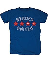 Heroes United (Justice League) - Superman,Batman ETC - Official Mens T Shirt