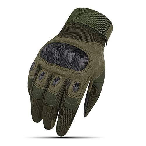 QYLJX Guanti Tattici, Guanti Touch Finger Full Touch per Moto Nocca, Adatti per Moto, Paintball, Ciclismo, Escursionismo, Softair, Campeggio,