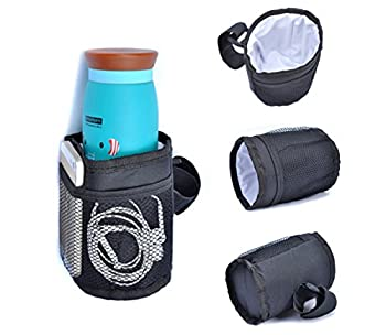 Pawaca Multifunctional Waterproof Thermal Insulated Bottle Holder Pocket Organizer For Baby Strollers, Shopping Carts, Wheelchairs, Bikes 0